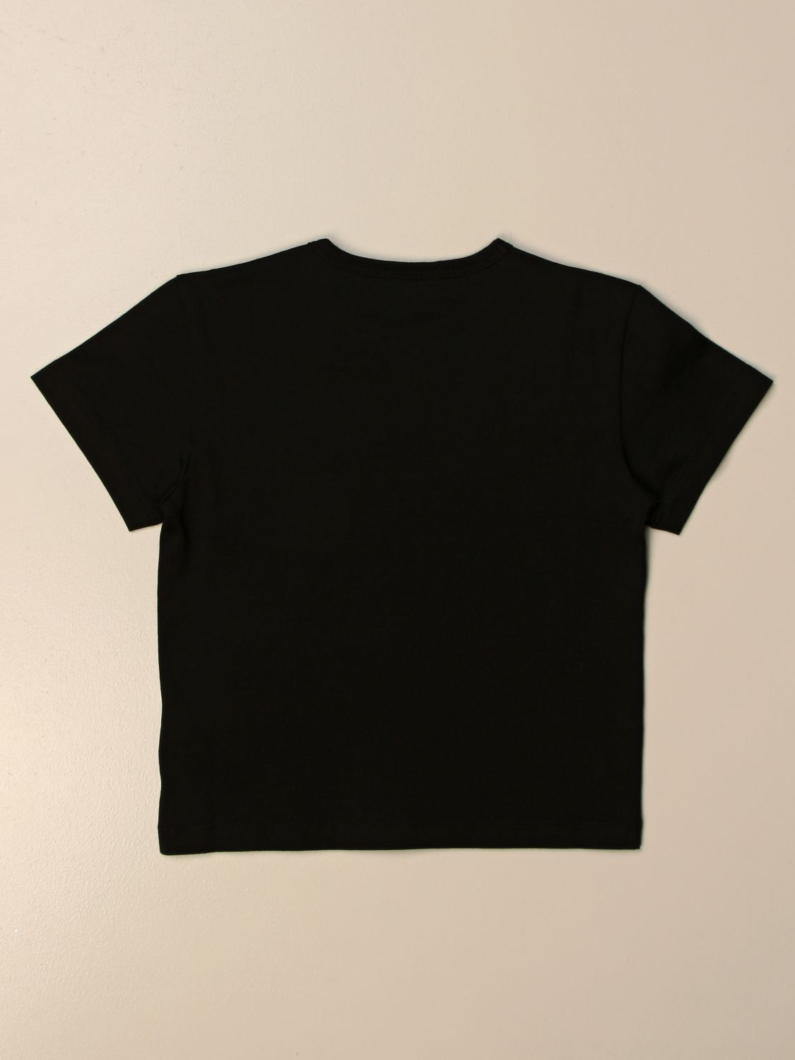 T-shirt Dolce & Gabbana: T-shirt Dolce & Gabbana in cotone con stampa Made in Italy nero 2