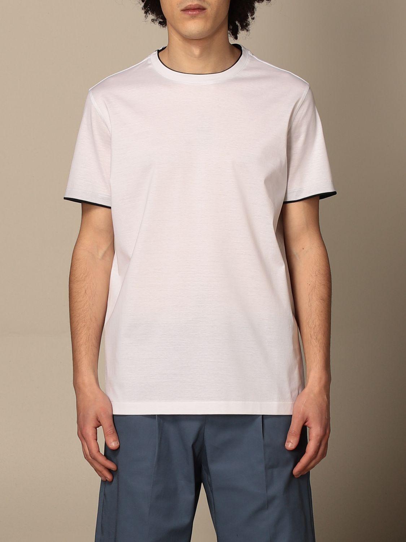 T-shirt Alessandro Dell'acqua: T-shirt men Alessandro Dell'acqua white 1