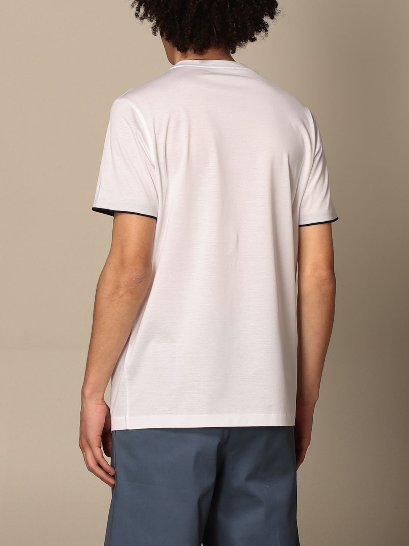 T-shirt Alessandro Dell'acqua: T-shirt men Alessandro Dell'acqua white 2