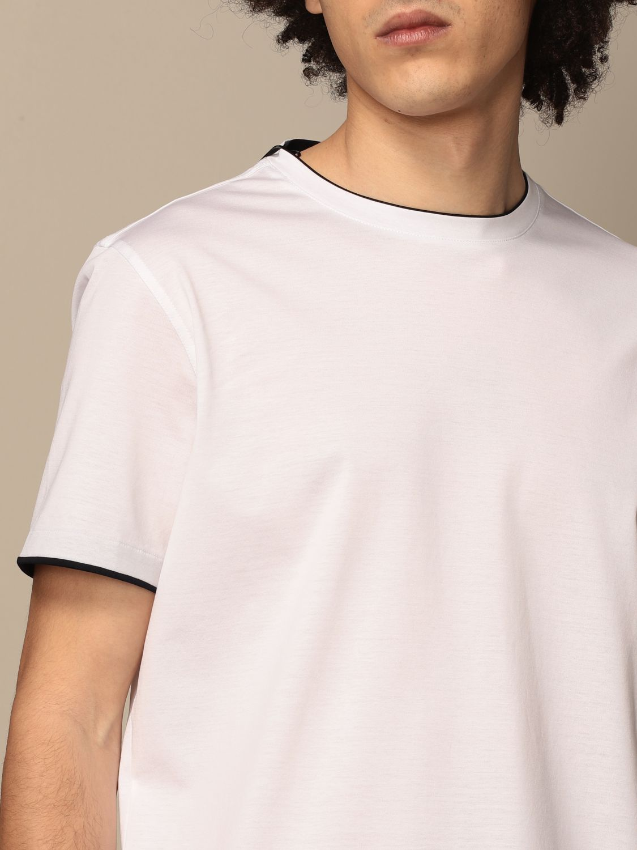 T-shirt Alessandro Dell'acqua: T-shirt men Alessandro Dell'acqua white 3