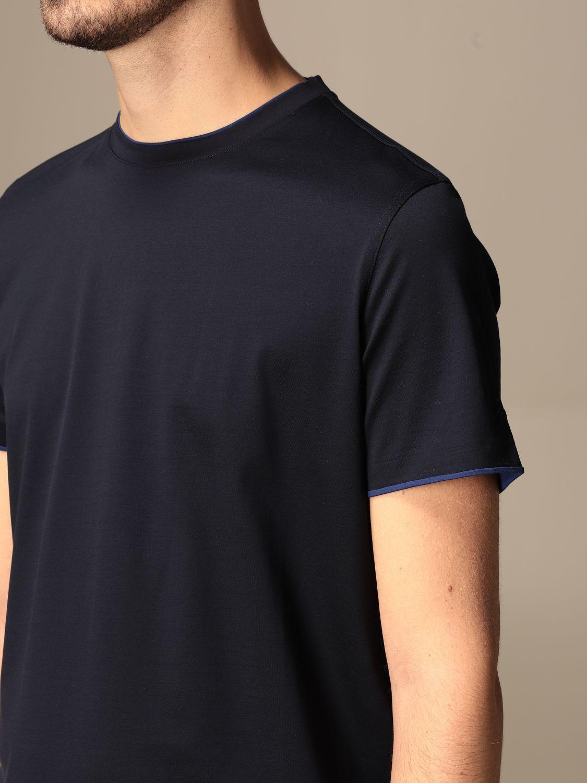 Camiseta Alessandro Dell'acqua: Camiseta hombre Alessandro Dell'acqua azul oscuro 3