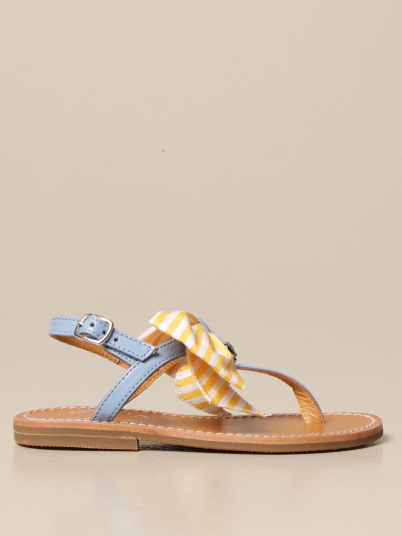Chaussures Simonetta: Chaussures enfant Simonetta bleu azur 1