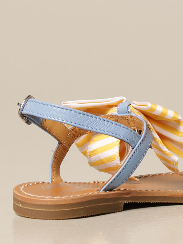Chaussures Simonetta: Chaussures enfant Simonetta bleu azur 3