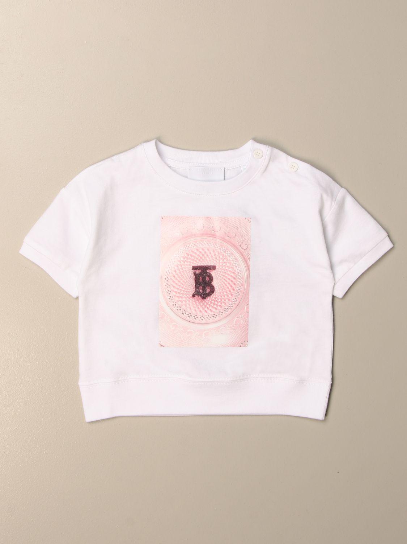 Camiseta Burberry: Camisetas niños Burberry blanco 1