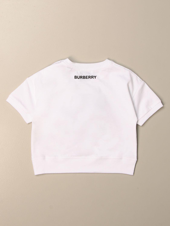 Camiseta Burberry: Camisetas niños Burberry blanco 2
