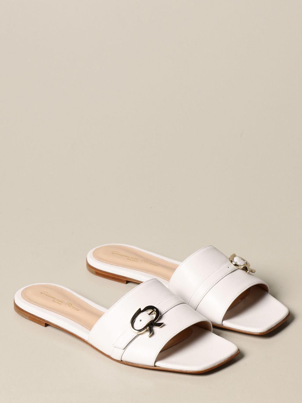 Flache Schuhe Gianvito Rossi: Flache schuhe damen Gianvito Rossi weiß 2