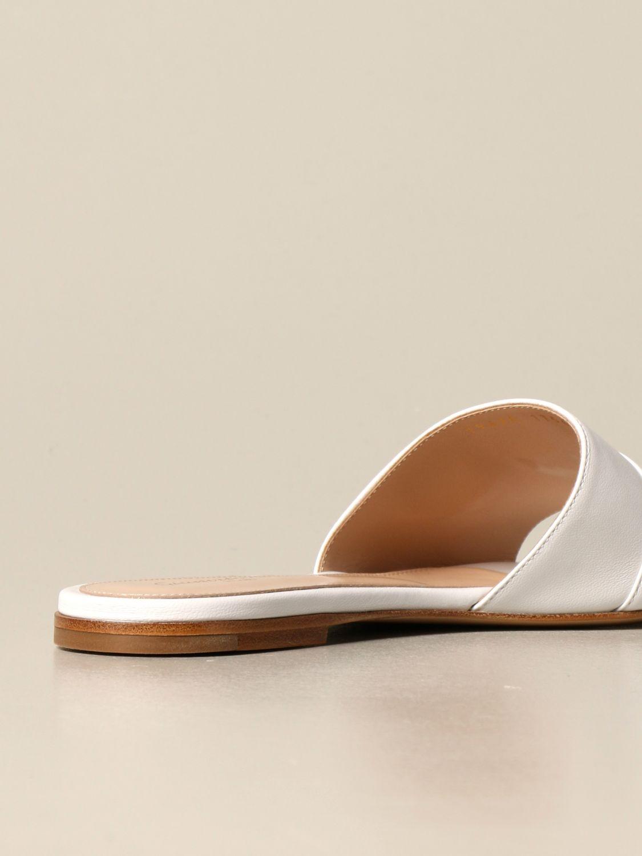 Flache Schuhe Gianvito Rossi: Flache schuhe damen Gianvito Rossi weiß 3