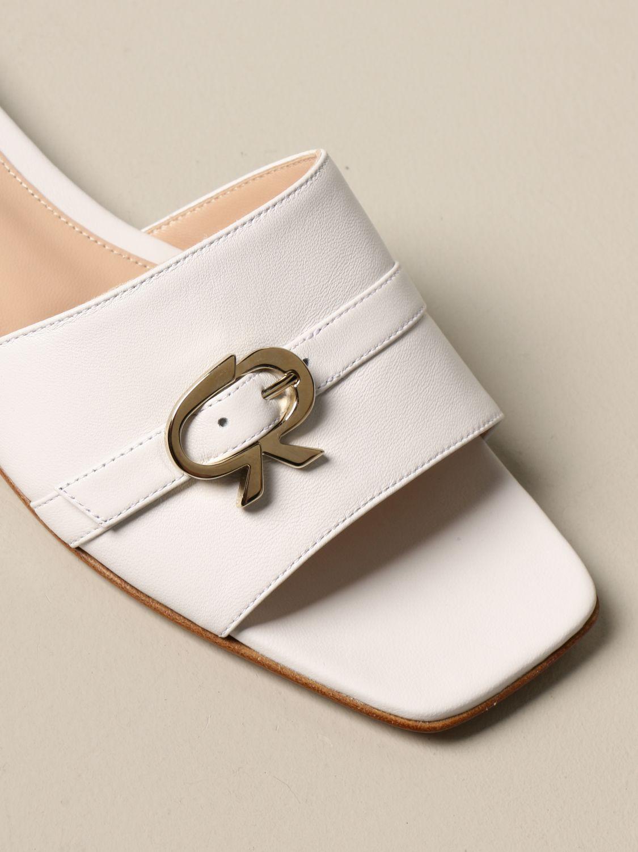 Flache Schuhe Gianvito Rossi: Flache schuhe damen Gianvito Rossi weiß 4