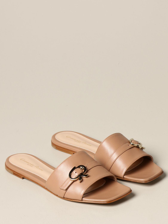 Flache Schuhe Gianvito Rossi: Flache schuhe damen Gianvito Rossi pink 2