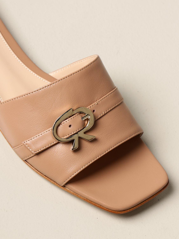 Flache Schuhe Gianvito Rossi: Flache schuhe damen Gianvito Rossi pink 4