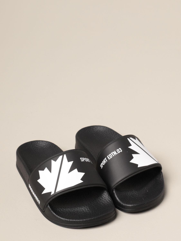 Обувь Dsquared2 Junior: Обувь Детское Dsquared2 Junior черный 2