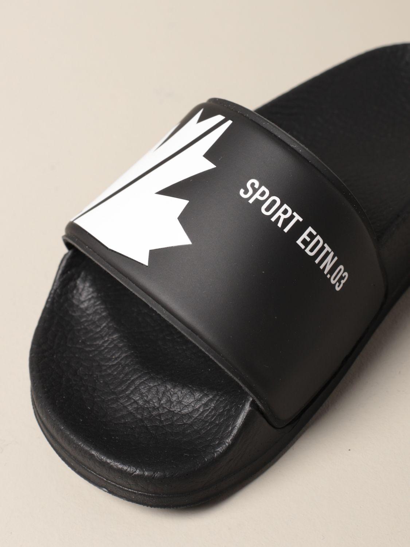 Обувь Dsquared2 Junior: Обувь Детское Dsquared2 Junior черный 4