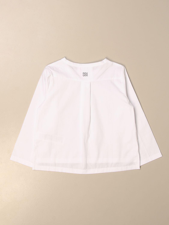Shirt Douuod: Shirt kids Douuod white 2