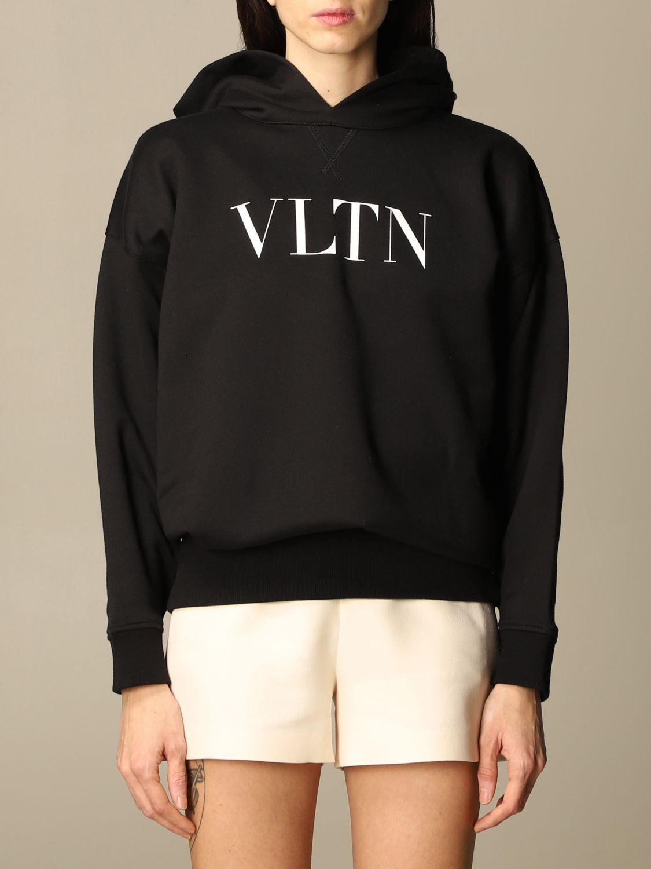 Sweatshirt Valentino: Sweatshirt damen Valentino schwarz 1