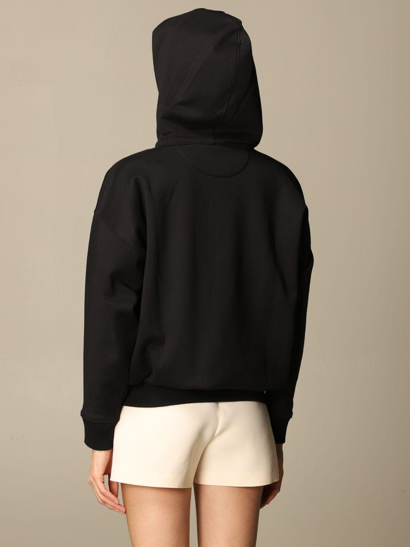 Sweatshirt Valentino: Sweatshirt damen Valentino schwarz 3