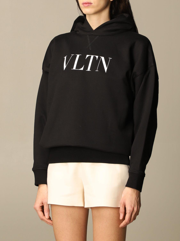 Sweatshirt Valentino: Sweatshirt damen Valentino schwarz 4