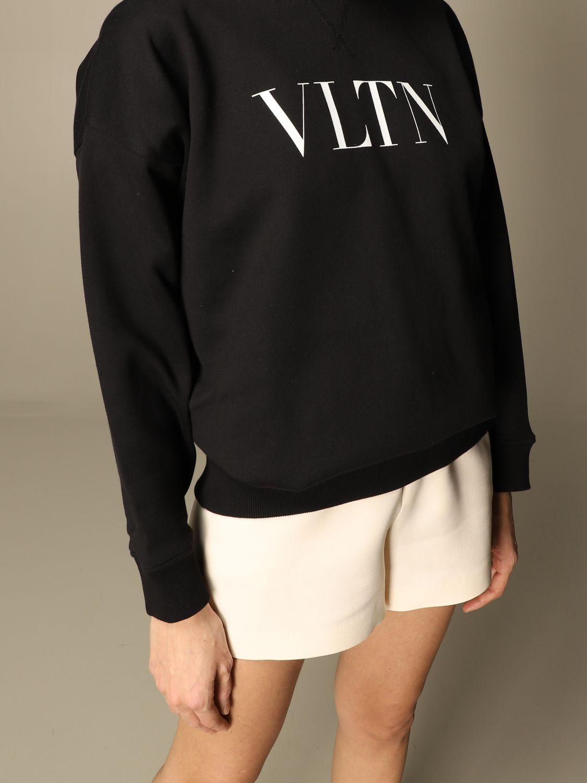 Sweatshirt Valentino: Sweatshirt damen Valentino schwarz 5