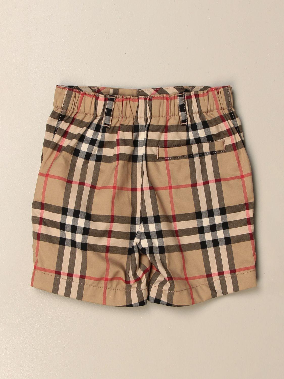 Pantalones cortos Burberry: Pantalón niños Burberry beige 2