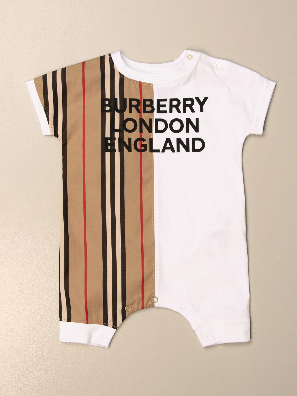 Monopieza Burberry: Monopieza niños Burberry beige 1