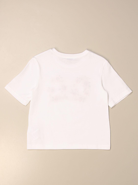 T-shirt Dolce & Gabbana: T-shirt Dolce & Gabbana in cotone con logo DG floreale rosa 2