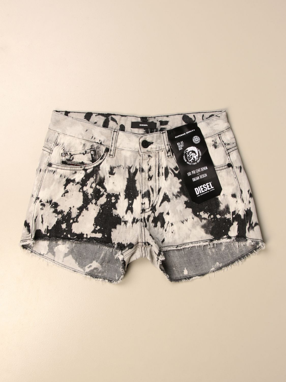 Pantalones cortos Diesel: Pantalones cortos niños Diesel negro 1
