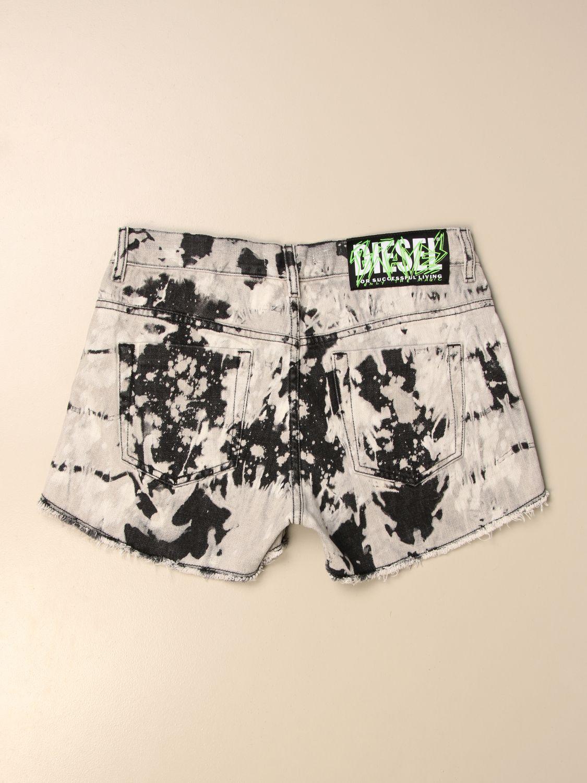 Pantalones cortos Diesel: Pantalones cortos niños Diesel negro 2