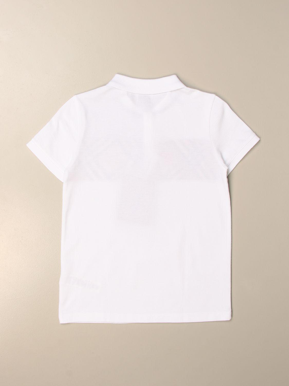 Camiseta Burberry: Camiseta niños Burberry blanco 2