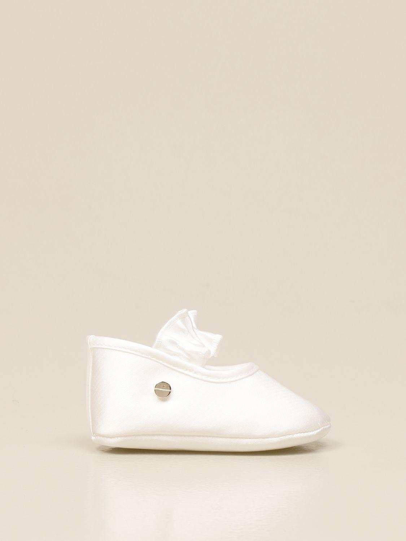 Zapatos Elisabetta Franchi: Zapatos niños Elisabetta Franchi marfil 1