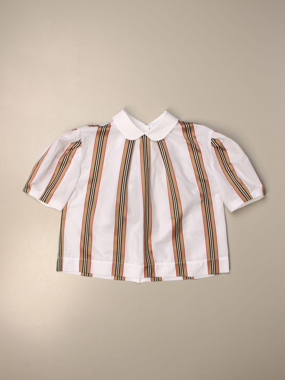 Camisa Burberry: Camisetas niños Burberry beige 1