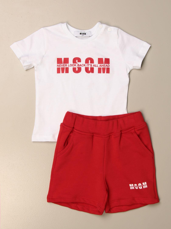 Mono Msgm Kids: Mono niños Msgm Kids blanco 1