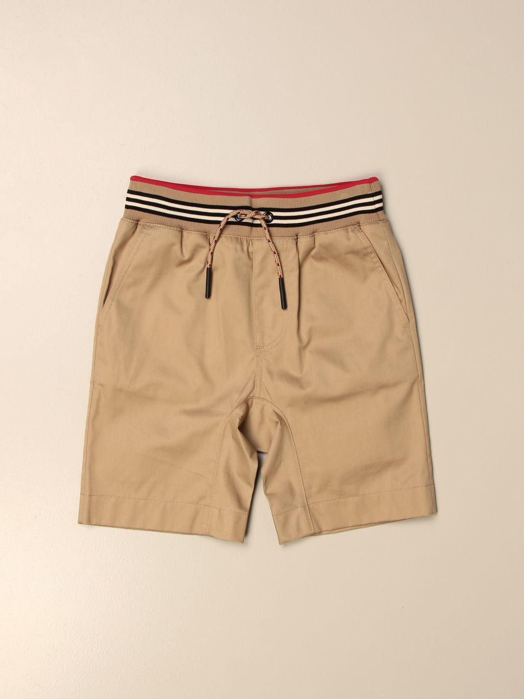 Pantalón corto Burberry: Pantalón niños Burberry beige 1