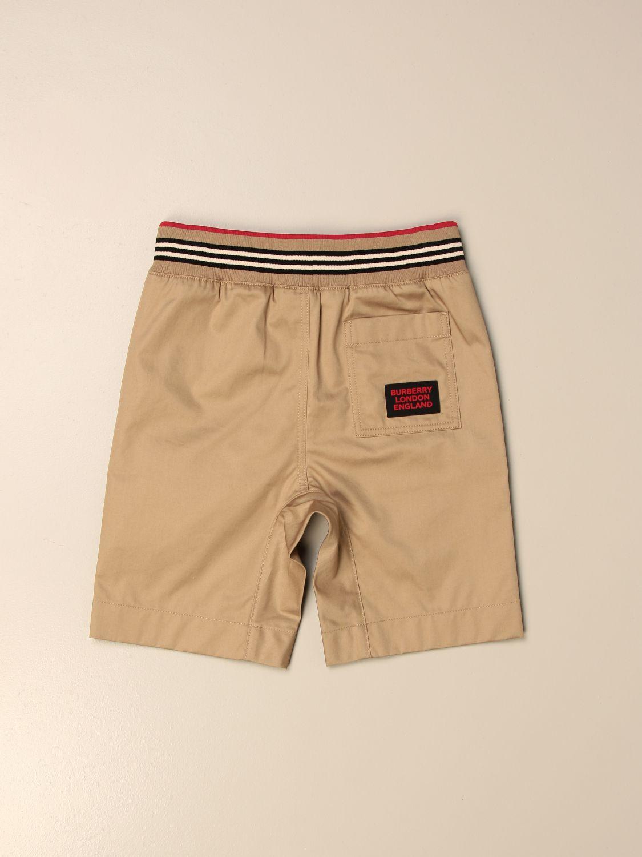 Pantalón corto Burberry: Pantalón niños Burberry beige 2