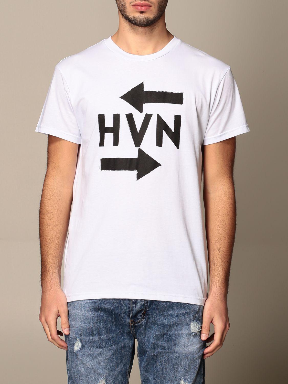 T-shirt Havana & Co.: T-shirt Havana & Co. in cotone con monogramma logo bianco 1
