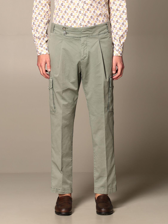 Pantalone Havana & Co.: Pantalone Havana & Co. in cotone verde 1