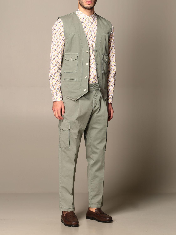 Pantalone Havana & Co.: Pantalone Havana & Co. in cotone verde 2