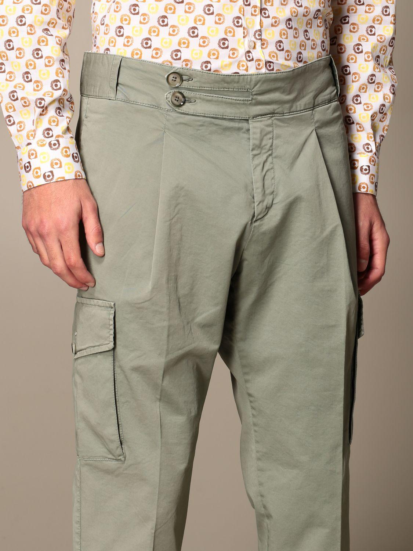 Pantalone Havana & Co.: Pantalone Havana & Co. in cotone verde 4