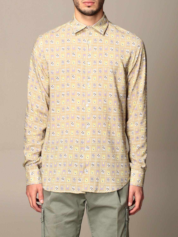 Camisa Havana & Co.: Camisa hombre Havana & Co. beige 1
