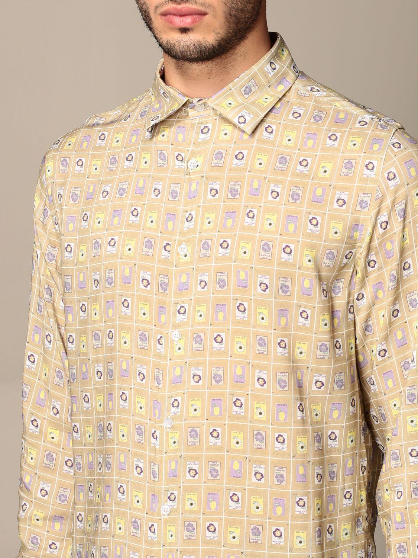 Camisa Havana & Co.: Camisa hombre Havana & Co. beige 4
