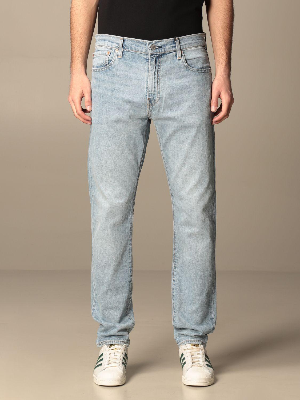 Jeans Levi's: Levi's 5-pocket jeans in used denim denim 1