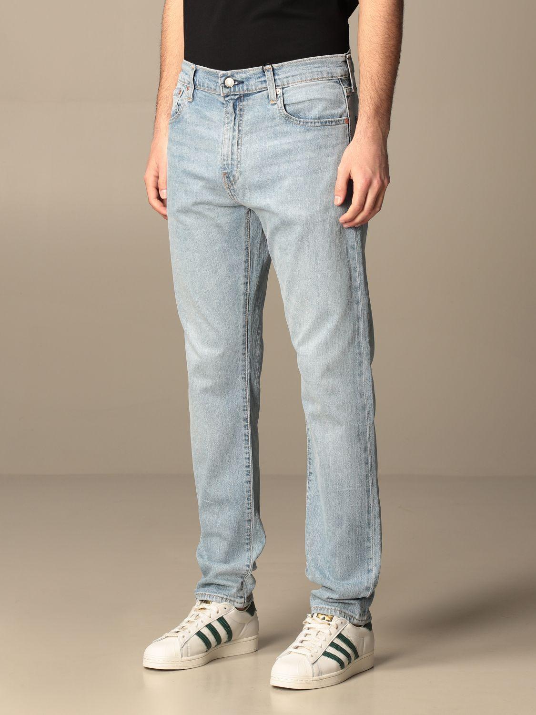Jeans Levi's: Levi's 5-pocket jeans in used denim denim 3