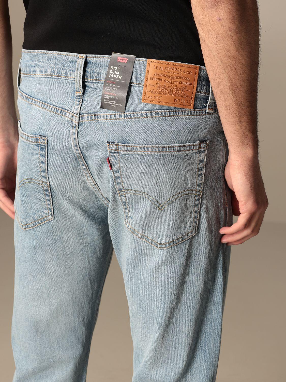 Jeans Levi's: Levi's 5-pocket jeans in used denim denim 4