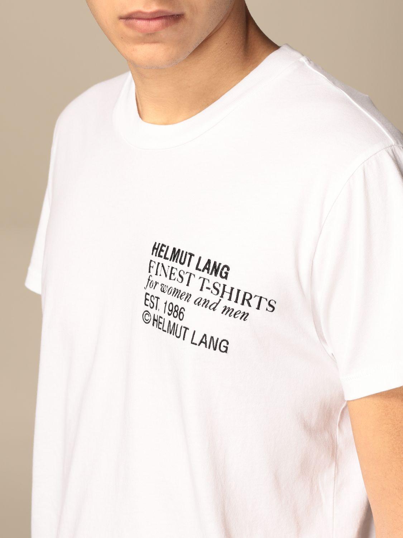 Футболка Helmut Lang: Футболка Мужское Helmut Lang белый 4