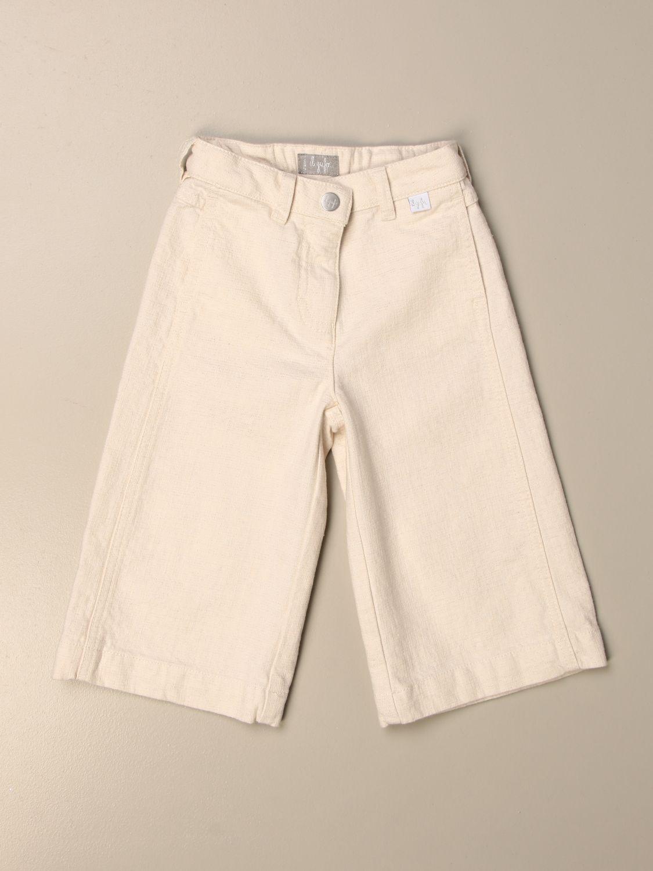 牛仔裤 Il Gufo: 牛仔裤 儿童 Il Gufo 奶油黄 1