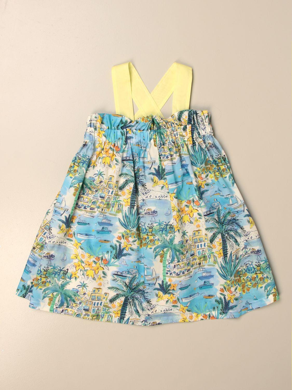 Kleid Il Gufo: Kleid kinder Il Gufo himmelblau 1