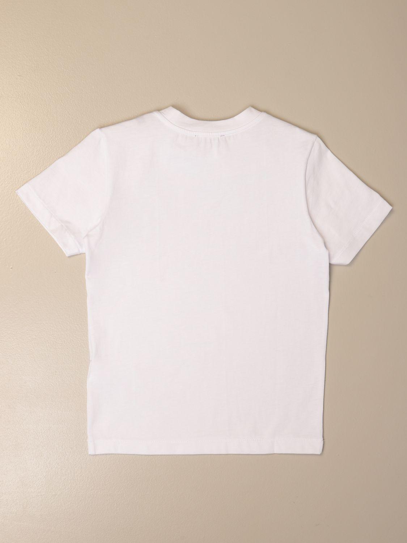 Camiseta Diesel: Camiseta niños Diesel blanco 1 2
