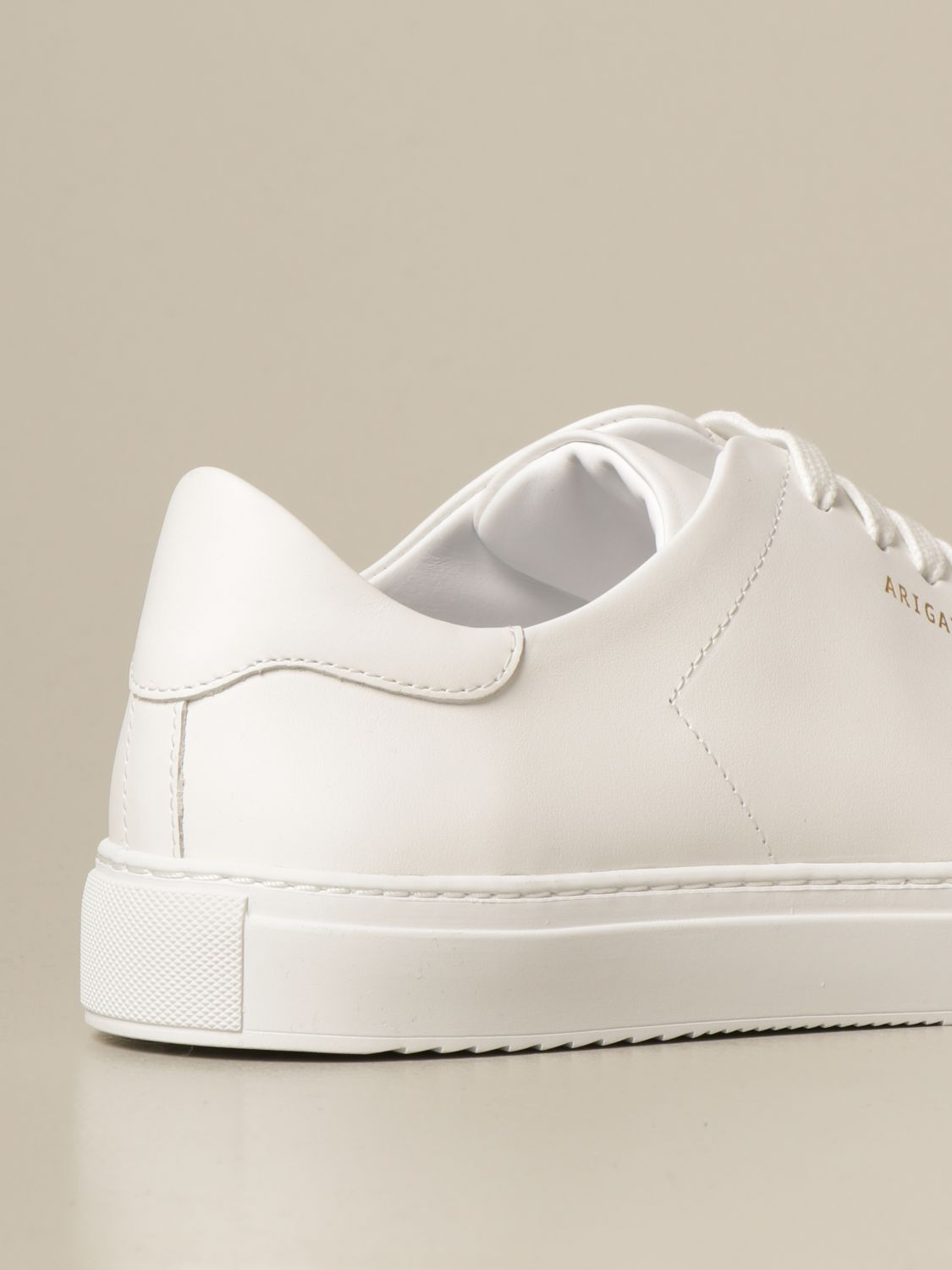 Sneakers Axel Arigato: Axel Arigato lace-up sneakers in leather with logo white 3