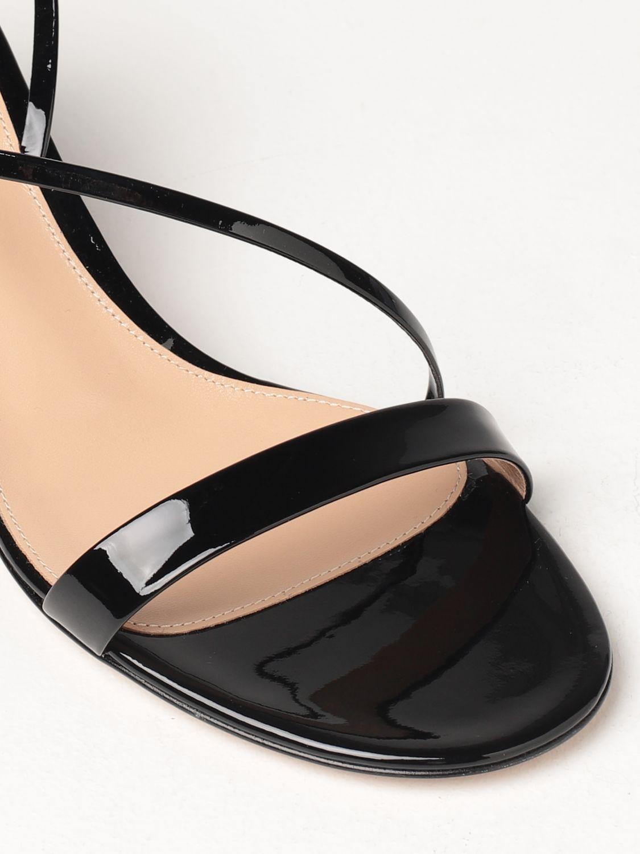 Sandalen mit Absatz Gianvito Rossi: Flache sandalen damen Sergio Rossi schwarz 4