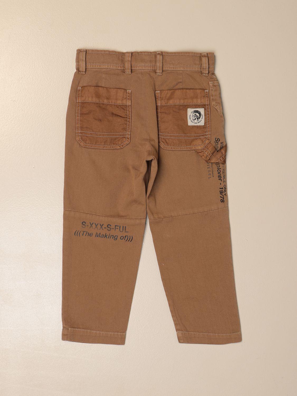 Pantalón Diesel: Pantalón niños Diesel verde 2