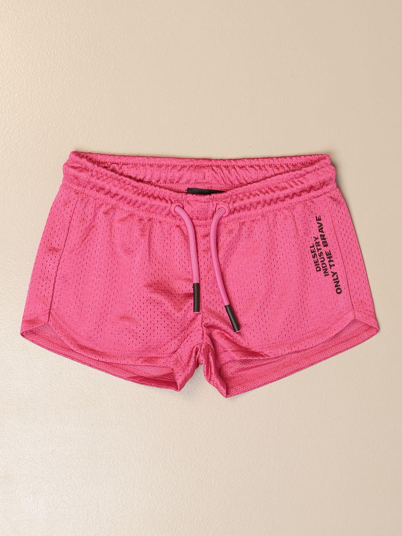 Pantalones cortos Diesel: Pantalón corto niños Diesel rojo 1