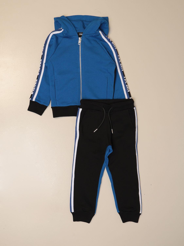 Tracksuit Diesel: Complete sweatshirt + jogging pants Diesel blue 1